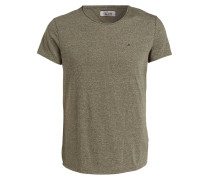 T-Shirt - oliv meliert