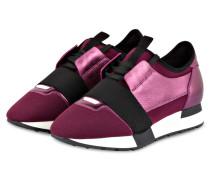 Sneaker RACE RUNNERS - pflaume/ schwarz