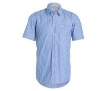 Halbarm-Hemd DAN Regular-Fit - blau
