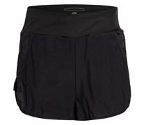 2-in-1-Shorts ZILKE mit Mesh-Besatz