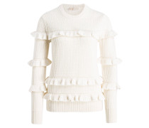 Strickpullover - offwhite