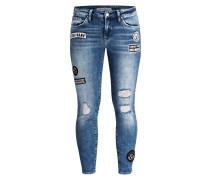 Skinny-Jeans ADRIANA - blau