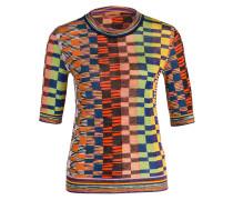 Pullover - rot/ schwarz/ gelb