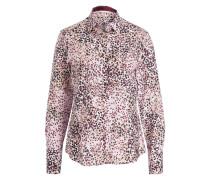 Bluse - bordeaux/ beige/ rosa
