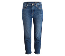 7/8-Jeans LUNDA - fluid dark blue wash