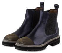 Chelsea-Boots - blau