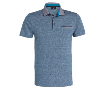Poloshirt JAMES Classic-Fit mit Leinenanteil
