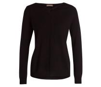 Pullover mit Cashmere-Anteil - schwarz
