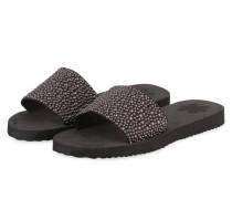 Sandalen POOL SLIM PEARLS - schwarz