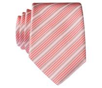Krawatte - rosa/ rot/ weiss