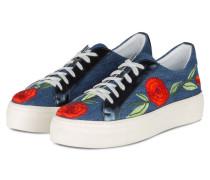 Plateau-Sneaker - blau