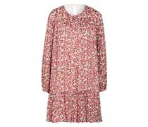 Kleid mit Glitzergarnen