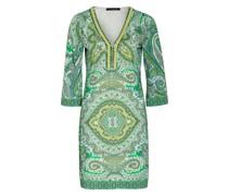 Kleid mit 3/4-Arm und Perlen-und