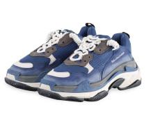 Sneaker TRIPLE S - BLAU