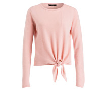 Pullover TIKAVA mit Cashmere-Anteil - rosa