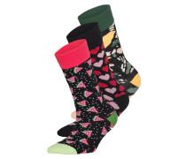 3er-Pack Socken LOVE NIGHT