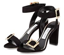 Sandaletten DACHA 85 - schwarz