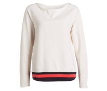 Sweatshirt - creme/ aubergine/ pink