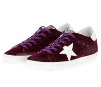 Sneaker SUPERSTAR - bordeaux/ weiss
