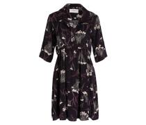 Kleid KYLE - schwarz/ creme/ himbeere