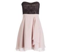Cocktailkleid - rosa/ schwarz