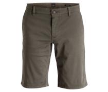 Shorts SCHINO Regular-Fit - dunkelgrün