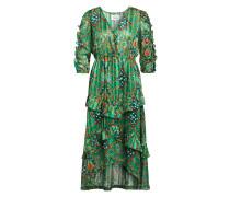 Kleid HAPPY mit 3/4-Arm und Glitzergarn