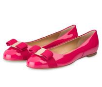 Lack-Ballerinas VARINA - pink