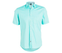 Halbarm-Hemd Casual modern fit - mint