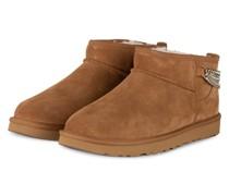 Boots CLASSIC ULTRA MINI CHAINS - BRAUN