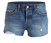 Jeans-Shorts - back to your heart blue