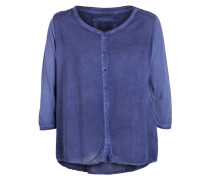 Blusenshirt BUTTON - blau
