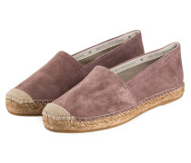 Espadrilles - dark rose