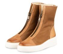 Plateau-Boots - HELLBRAUN