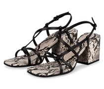 Sandaletten CALI - SCHWARZ/ GRAU