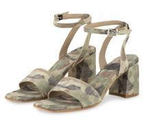 Sandaletten LOU - KHAKI/ OLIV/ BEIGE