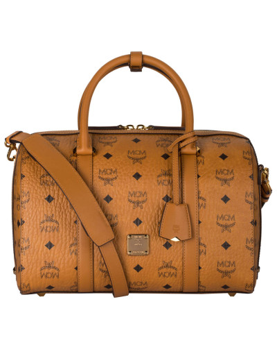 Bowling-Bag SIGNATURE VISETOS - cognac