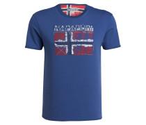 T-Shirt SURL - blau