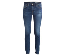 Destroyed-Jeans - mittelblau