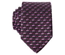 Krawatte - weinrot