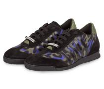 Sneaker NEW RUNNER - schwarz/ oliv/ blau