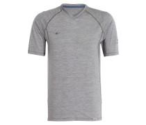 T-Shirt MAINIO mit Merinowolle - grau