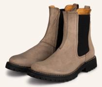 Chelsea-Boots ERNS - BEIGE/ SCHWARZ