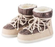 Fell-Boots COOPER - beige/ grau