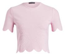 Cropped-Shirt - rosa