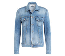 Jeansjacke - wr worn and repaired