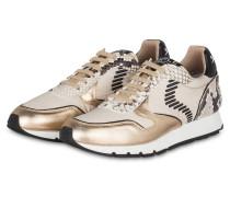 Sneaker JULIA DASH - beige/ gold/ schwarz