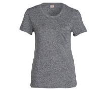 T-Shirt THE PERFECT - grau meliert
