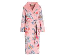 Damen-Bademantel BERRY BIRD - rosa