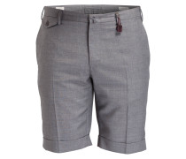 Shorts Slim-Fit - grau